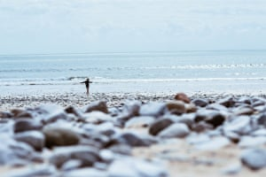 Dancing on the beachMy son dancing on the beach. Gower, South Wales Photograph: Rachael Smith/GuardianWitness