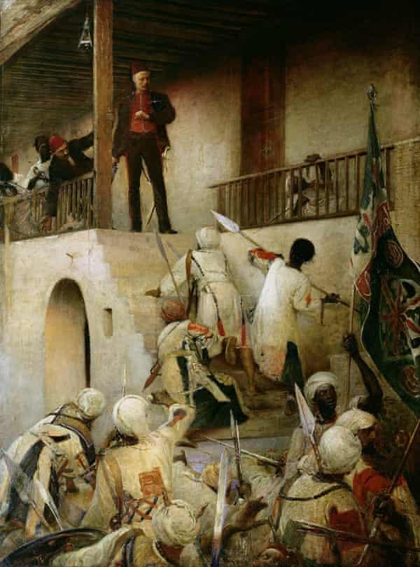 George William Joy's The Death of General Gordon, Khartoum, 26th January, 1885