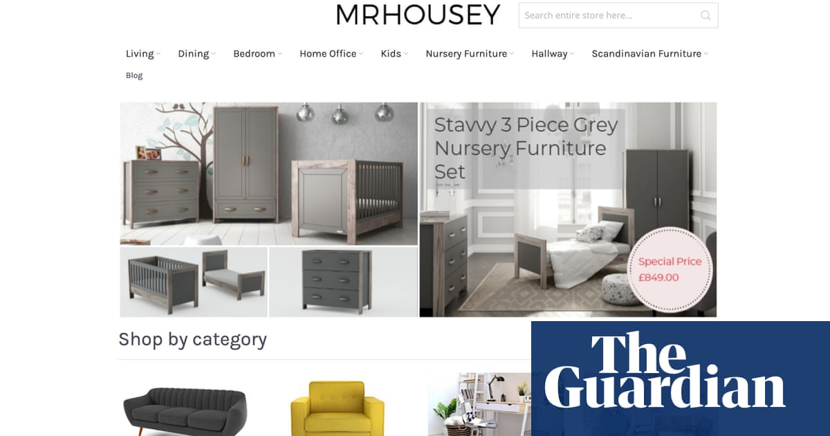 Website I ordered nursery furniture from has fairytale reviews