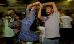 Veracruz street dance.