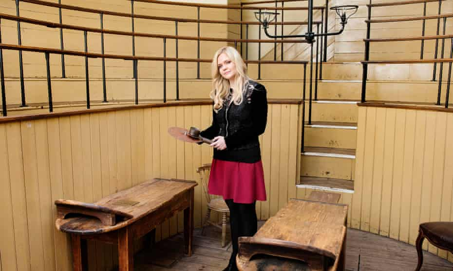 Lindsey Fitzharris at the Old Operating Theatre Museum and Herb Garret, London.