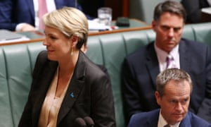 Deputy opposition leader Tanya Plibersek during question time.