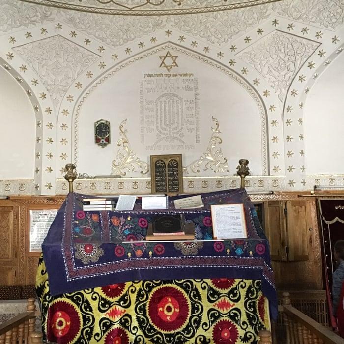 Gumbaz Synagogue. Photograph: Caroline Eden