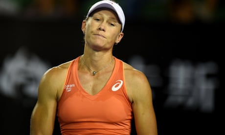 Stosur says tennis players could boycott Margaret Court Arena over gay marriage comments
