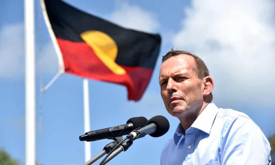 Tony Abbott as prime minister on Thursday Island in 2015.