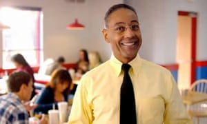 Drug lord and chicken king Gus Fring in Better Call Saul.