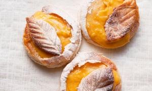 Clementine Curd Tarts