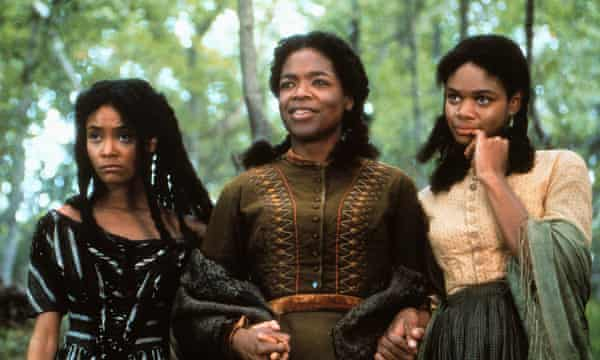 From left: Thandie Newton, Oprah Winfrey and Kimberly Elise in the film adaptation of Beloved (1998)
