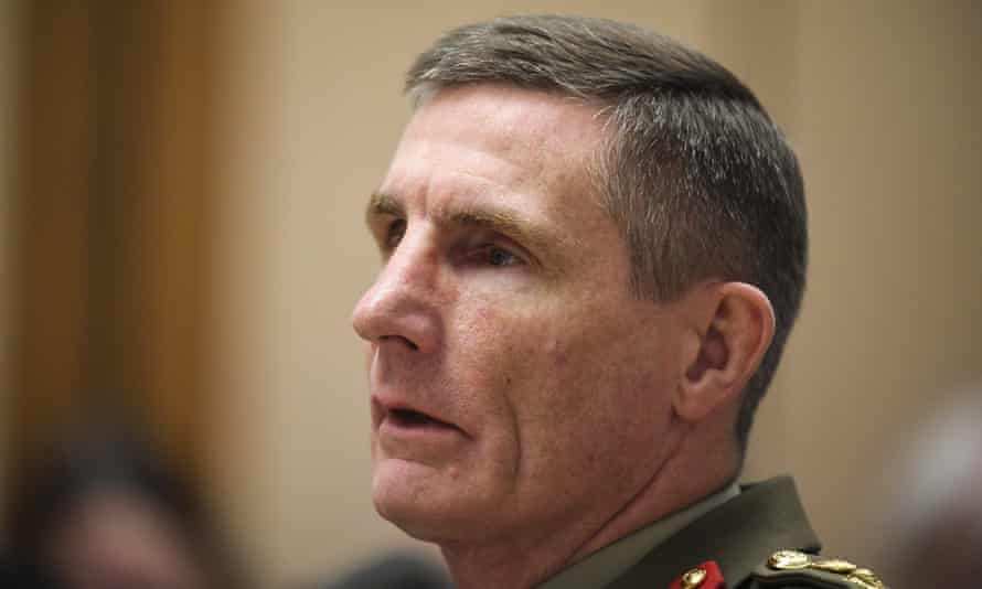 Chief of the Australian Defence Force Angus Campbell