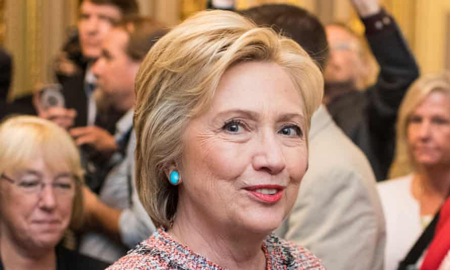 Tweet and dandy: Clinton is funny on Twitter. Some cynics susggest someone writes the gags for her.