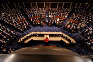 Julia Gillard addresses a joint sitting of the United States Congress in 2011
