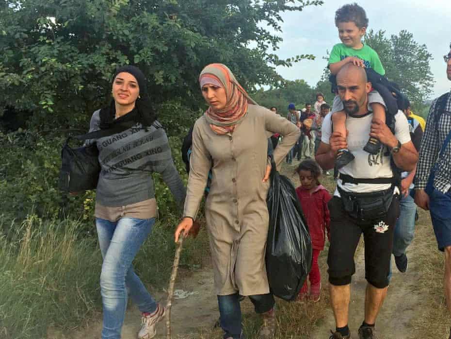 Fatima Massoud and family