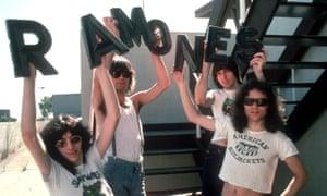 Ramones in 1976