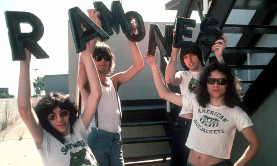 'They blasted out at 100mph' … from left, Joey, Dee Dee, Johnny and Tommy Ramone in 1976