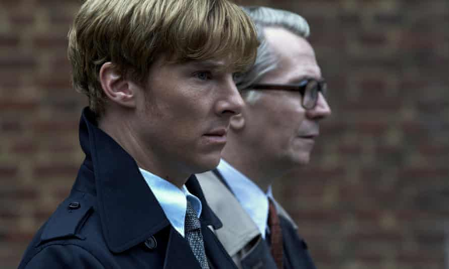 By George … Benedict Cumberbatch as Guillam and Gary Oldman as Smiley in Tinker Tailor Soldier Spy. Photograph: Allstar/Focus Features