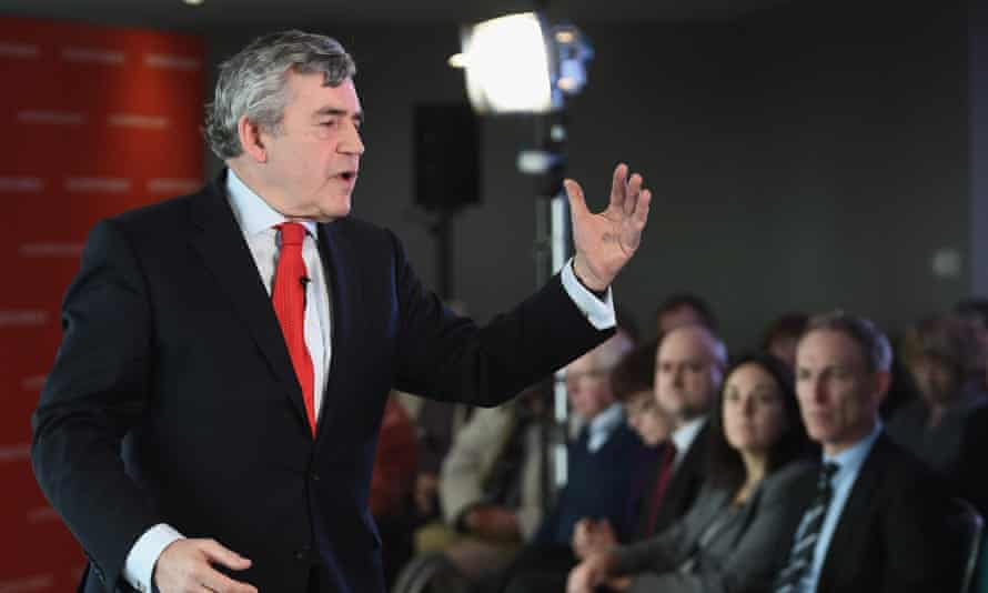 Gordon Brown is seen as a big draw for Scots in the general election.