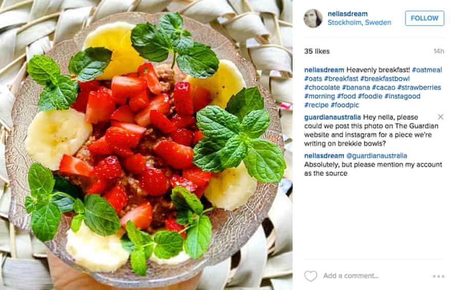 Instagram breakfast shots