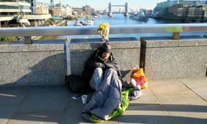 Homelessness is unlikely to make the front page.