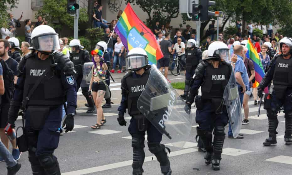 The struggle for LGBT equality: Pride meets prejudice in Poland | LGBT  rights | The Guardian
