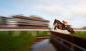 Thistlecrack showing off at Newbury. The top-class chaser is recovering from a tendon injury.