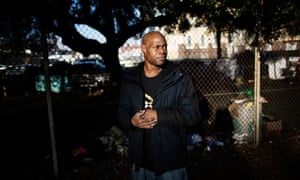Eric Clark, 51, describes life in one of the sheds in Oakland: 'I'm worse off. I never should've moved to that place.'