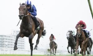Hukum wins the Geoffrey Freer Stakes at Newbury
