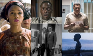 Spoilt for choice … Hidden Figures, Get Out, Madiba, Moonlight and I am Not Your Negro.