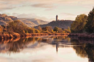 Wallace Monument from the banks of the Forth,  Stirlingshire |  Graham MacKay  | Historic Britain Special Award Winner