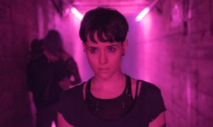 Claire Foy as Lisbeth Salander in The Girl In The Spider's Web.