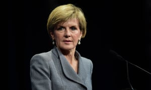 Julie Bishop speaks at the Liberal party federal council at the Sofitel hotel in Melbourne on Saturday.