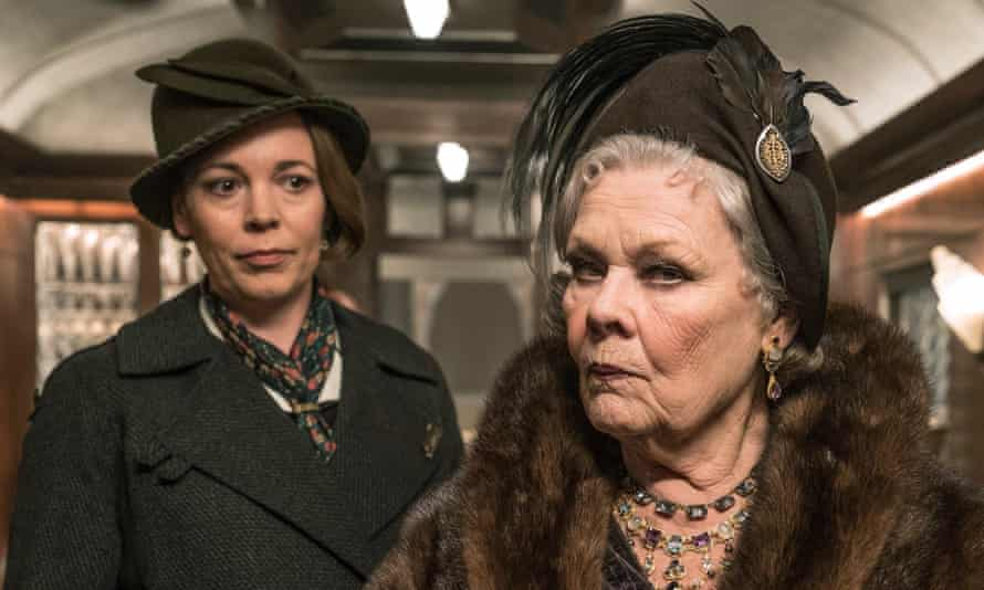 Cantankerous … Judi Dench, right, as a Russian princess and Olivia Colman as her maid.
