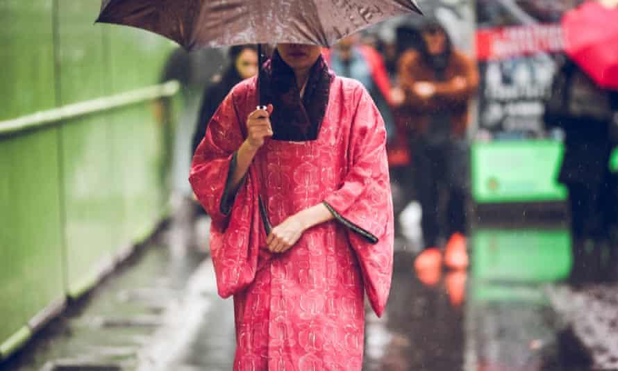 The flood warnings have hit during Paris Fashion Week.