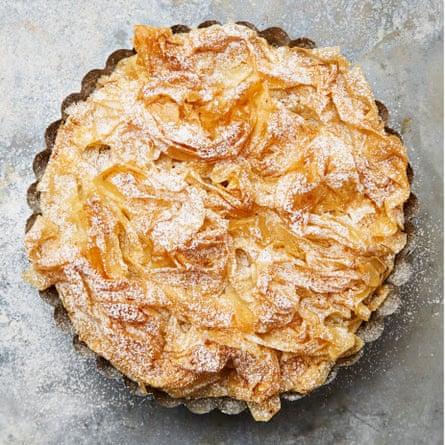 Yotam Ottonlenhi's pastis gascon, or French brandy apple tart