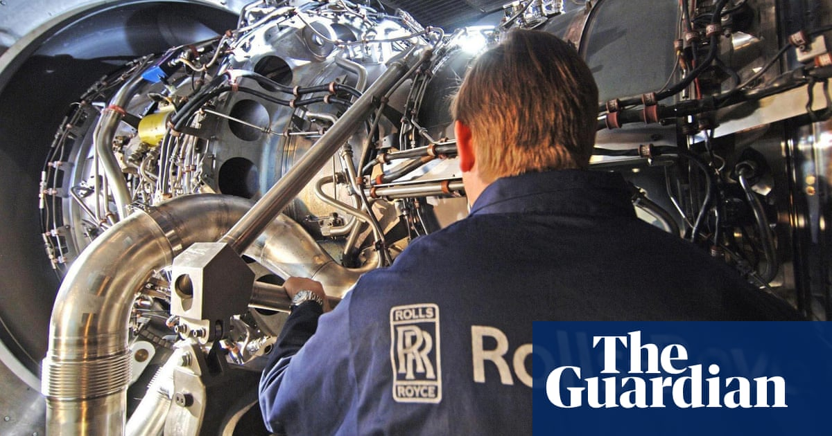 Rolls-Royce reports £4bn loss as Covid crisis shakes jet-engine maker