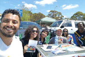 Democracy in Colour volunteers in Frankston