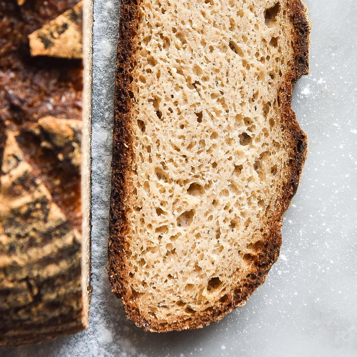sourdough bread on a gluten free diet
