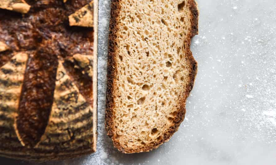 Gluten free sourdough bread