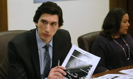 Calm deliberation … Adam Driver as Daniel J Jones in The Report.