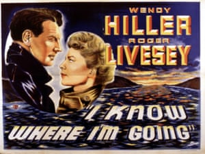 Stormy … the poster for Powell and Pressburger's I Know Where I'm Going (1945).