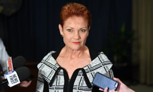 One Nation leader Senator Pauline Hanson could sink the government's tax cuts for high earners.