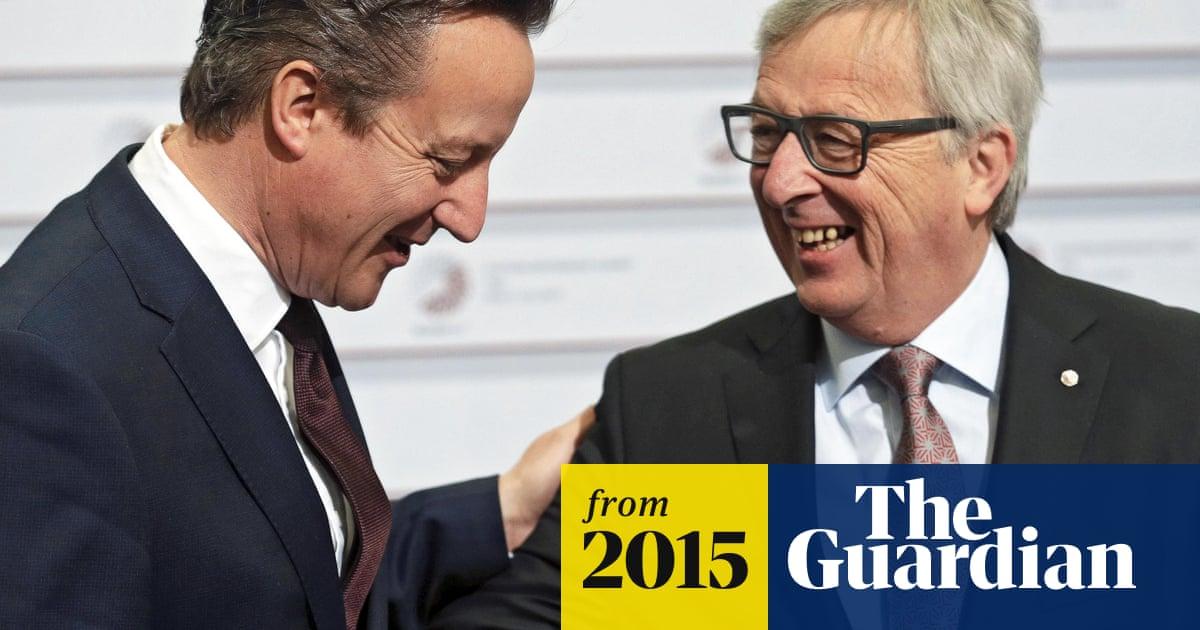 David Cameron arrives in Riga to press case for EU reform