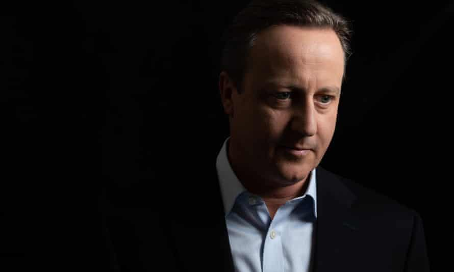 Smooth, figuratively and literally … David Cameron in The Cameron Years.