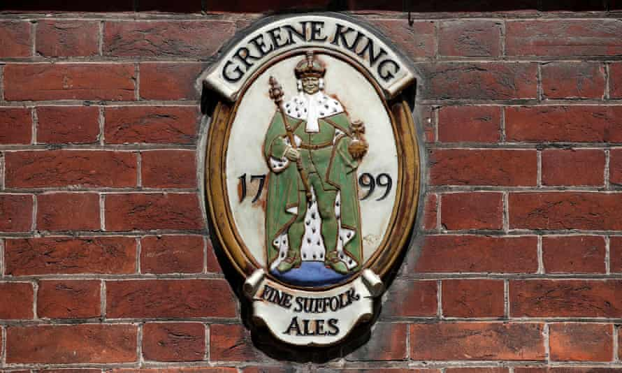 Greene King plaque