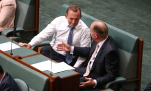 Tony Abbott with Russell Broadbent.