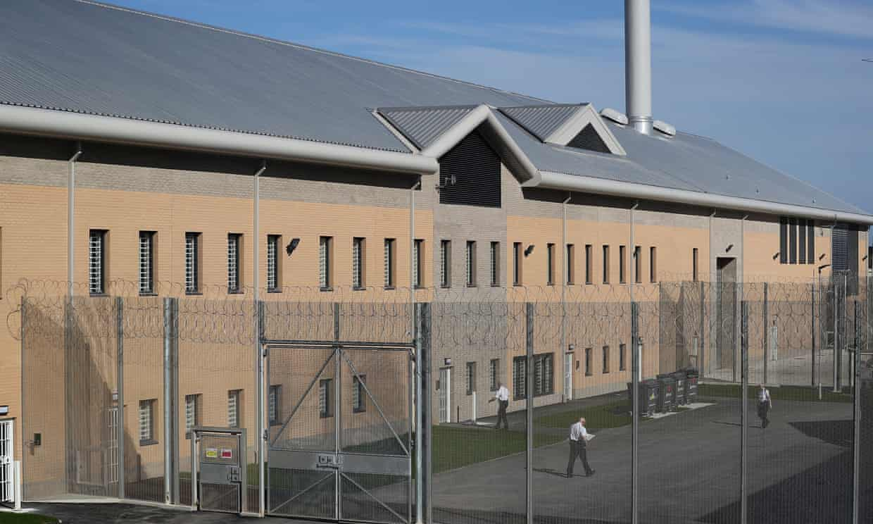 HMP Berwyn inWrexham, Wales, is one of the biggest jails in Europe capable of housing around 2,100 inmates