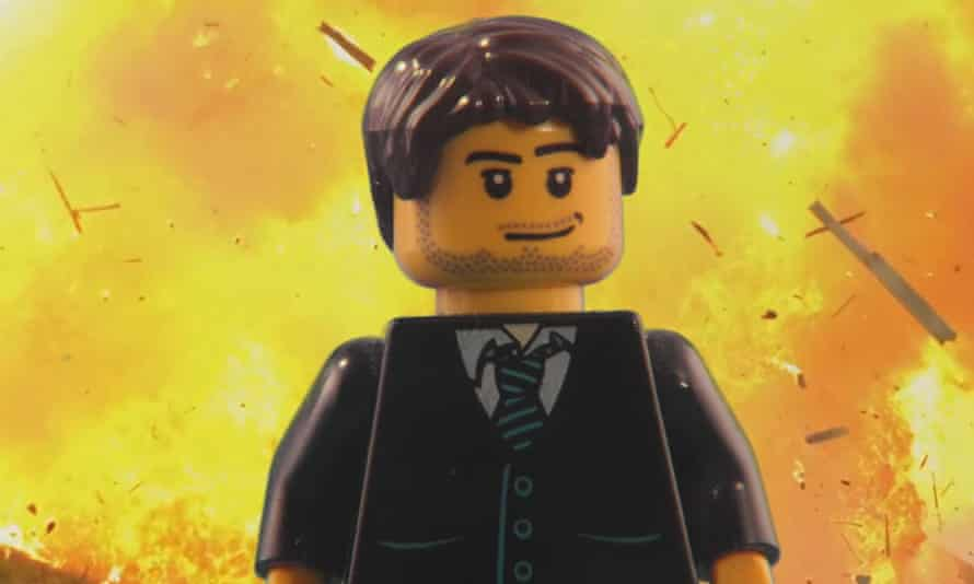 Morgan Spence has created a film for Paisley's bid for the city of culture, which include Gerard Butler, in Lego form.