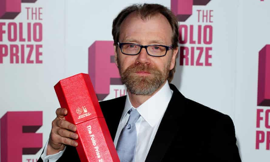 US author George Saunders winning the Folio prize in 2014 – the year the Booker announced it would allow Americans to enter. He'd win the Booker three years later.