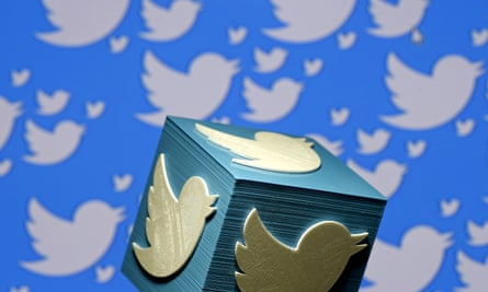 A 3D-printed logo for Twitter.