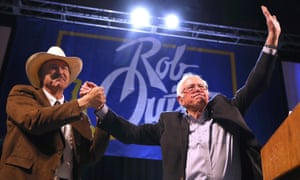 rob quist and bernie sanders