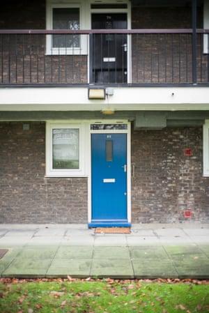 Quaker Court flats.